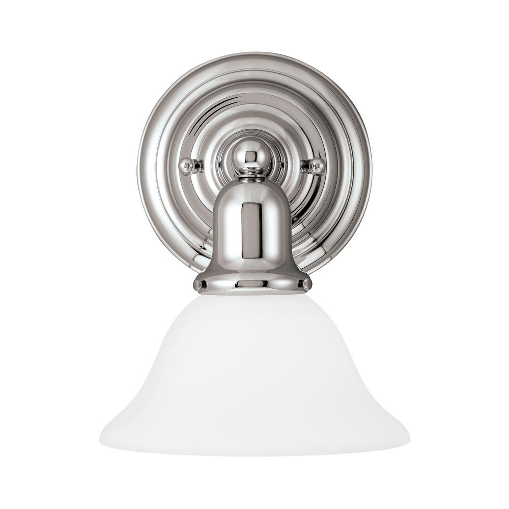 Sussex 1-Light Chrome Sconce