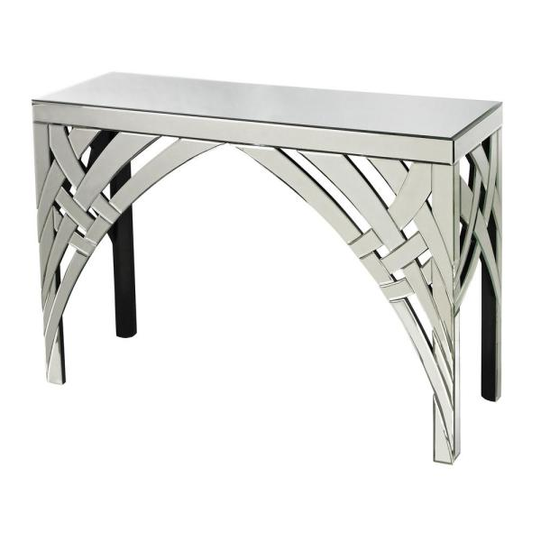 Titan Lighting Arched Ribbons Mirrored Console Table TN-892452