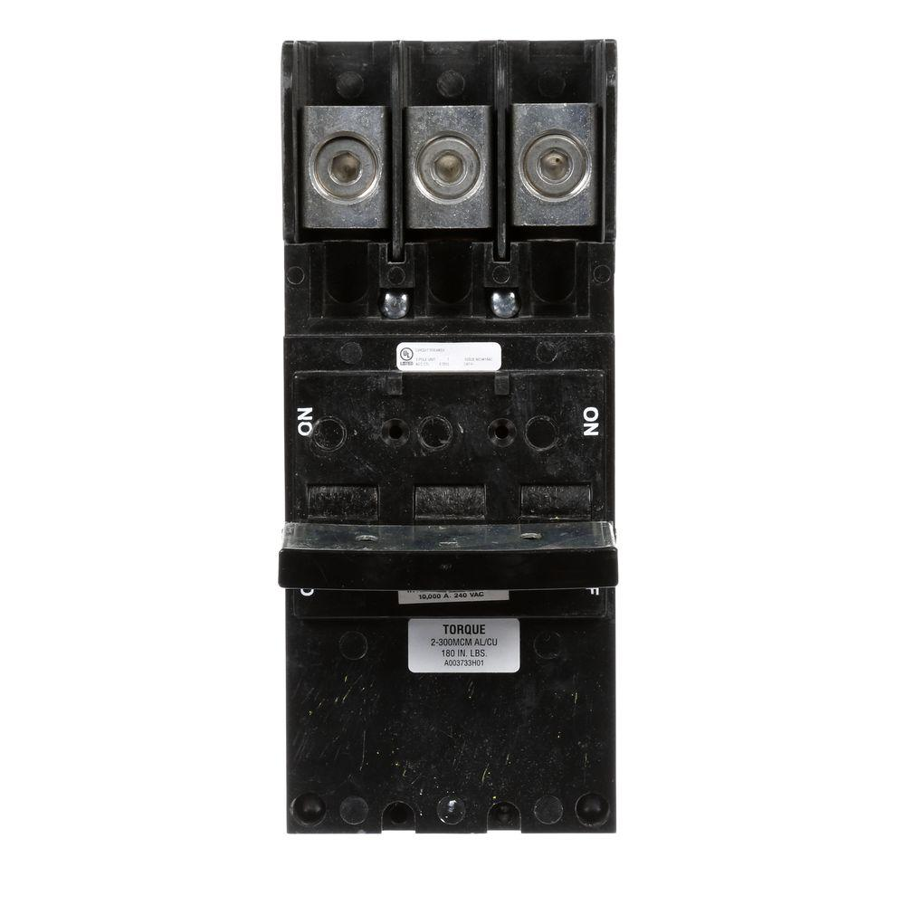 Siemens 150 Amp 3-Pole 10 kA Type QPJ Plug-In Circuit Bre...