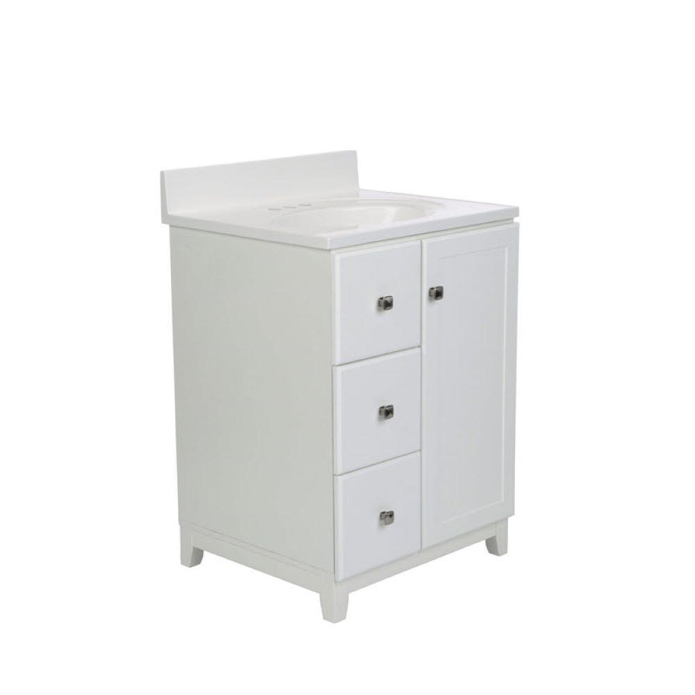 Design House Shorewood 24 In W X 21 In D 1 Dr 2 Dwr