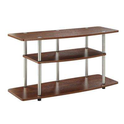 Designs2Go Cherry Shelved Entertainment Center