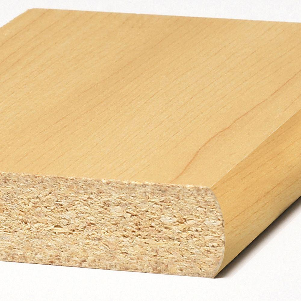 Maple Laminated Wood Shelf 10 W x 47.75 L Inches Pack of 4