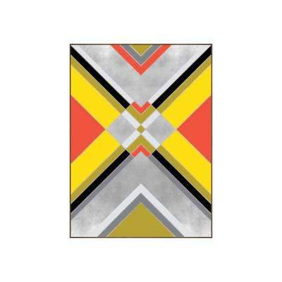 "42.25 in. x 31.25 in. ""Boho II"" by Bobby Berk Printed Framed Wall Art"