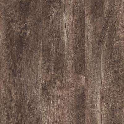 Stony Oak Smoke 8 in. Wide x 48 in. Length Click Floating luxury vinyl plank flooring (18.22 sq. ft./case)