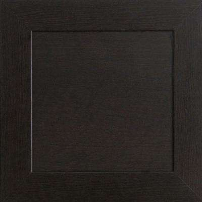 12.75x12.75x.75 in. Livorno Ready to Assemble Cabinet Door Sample in Espresso