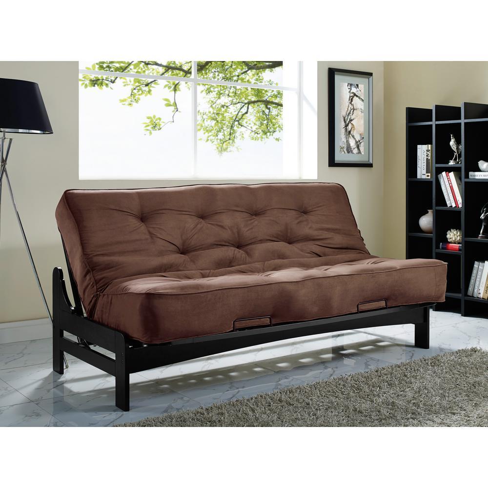 inter   301741550  simmons new york chocolate futon simmons new york chocolate futon si ex nyc wg 1c   the home depot  rh   homedepot