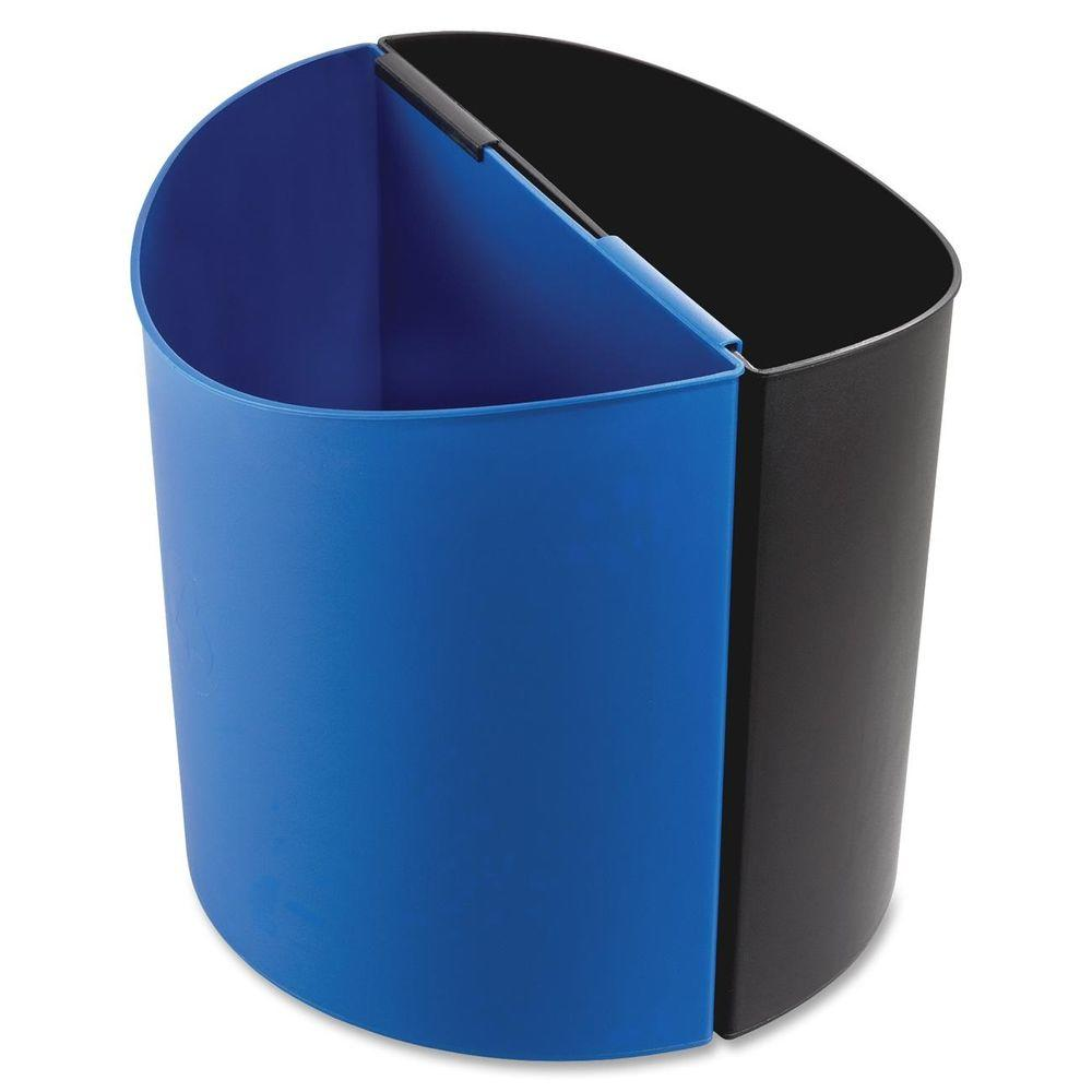 Safco 3 Gal. Small Desk-Side Indoor Recycling Bin