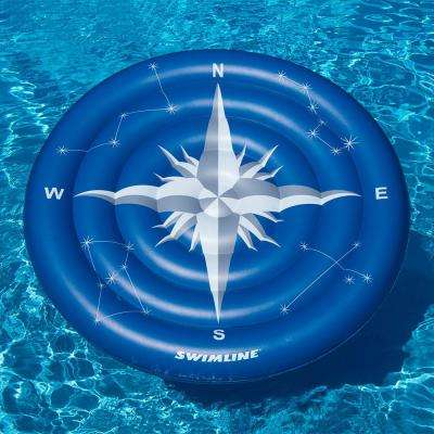 Compass Rose Constellation Glow Island Pool Float