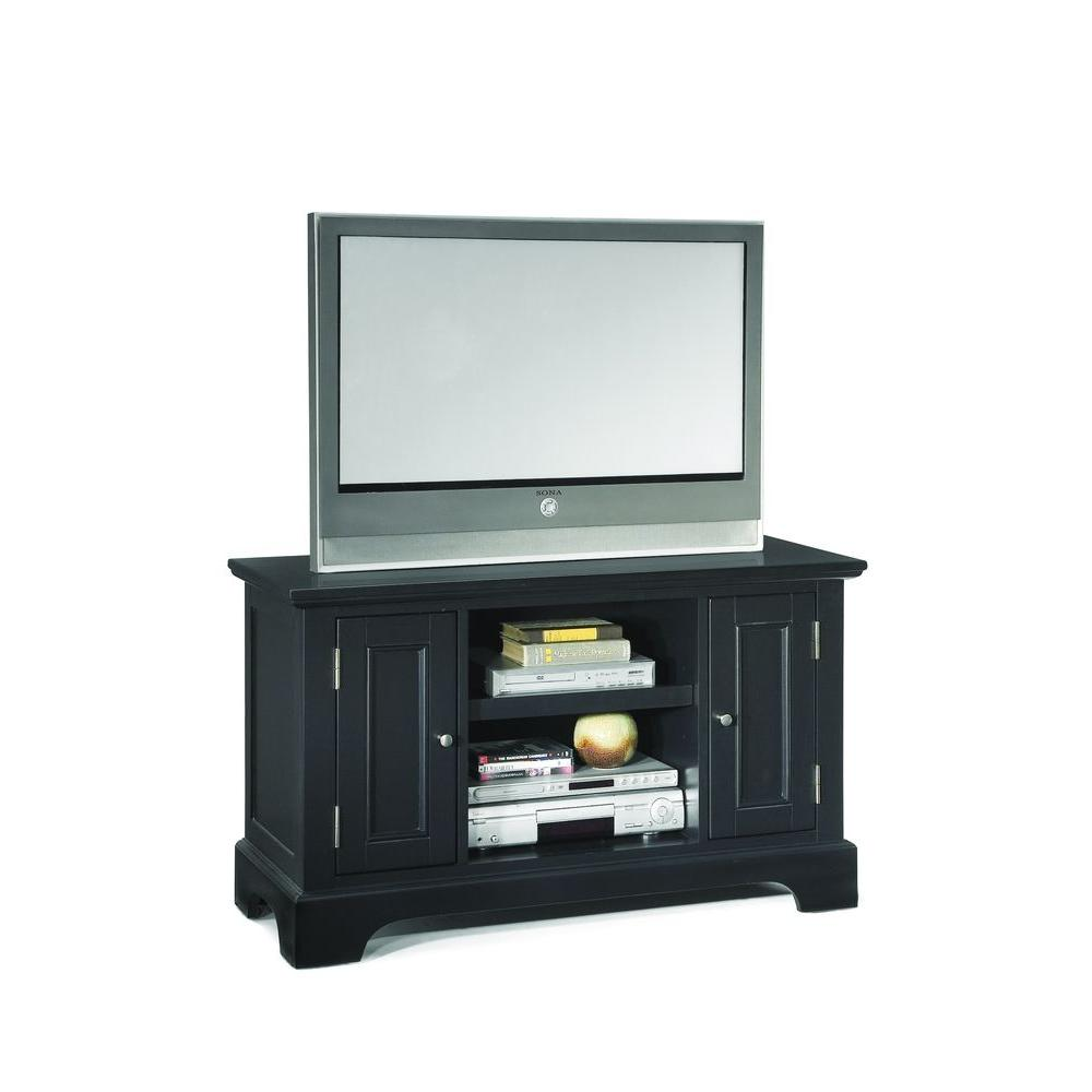 Home Styles Bedford Black TV Stand