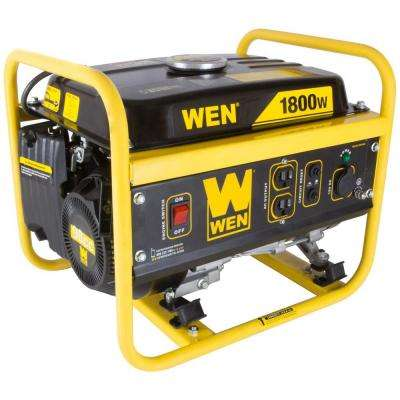 1800-Watt Gasoline Portable Generator - CARB Compliant