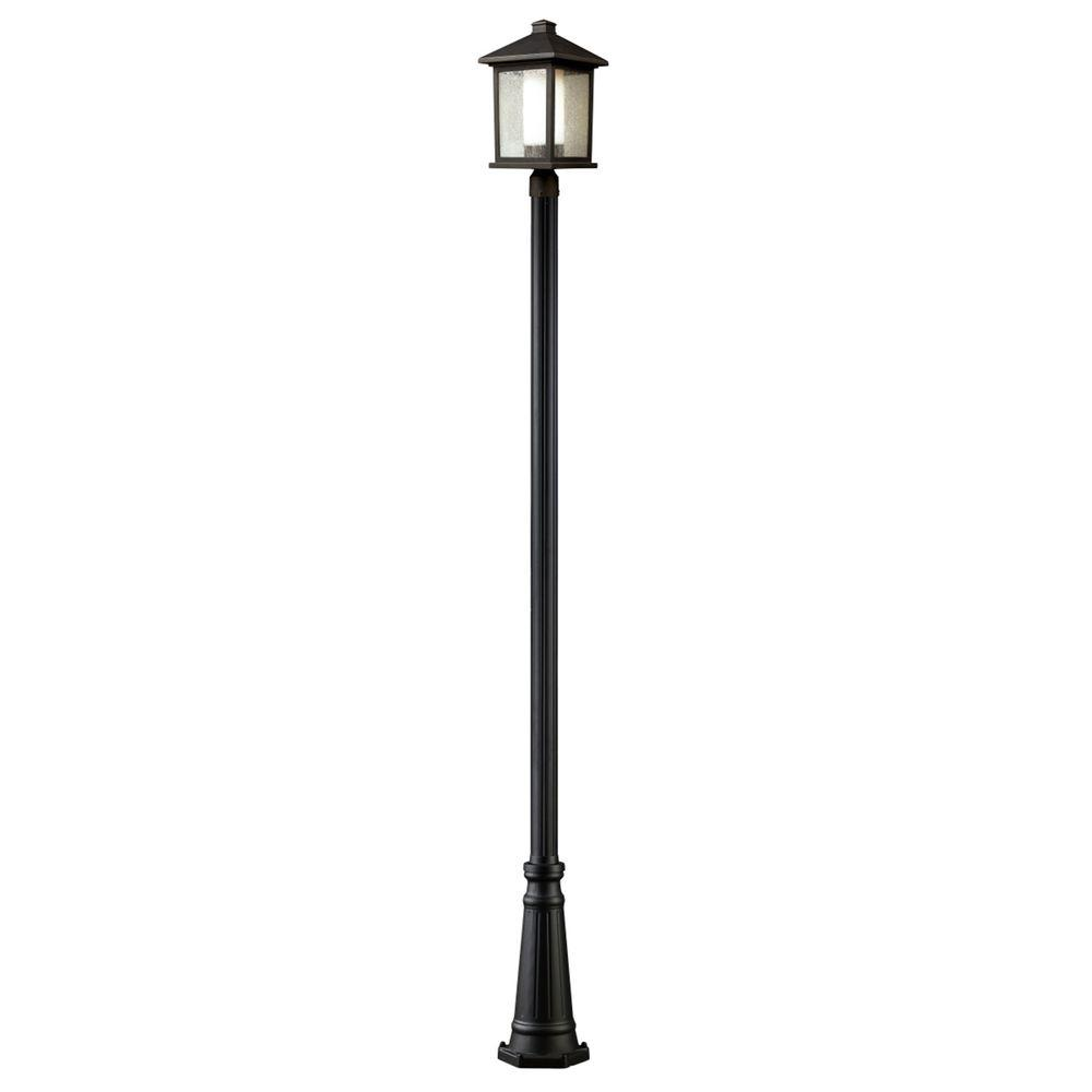 Filament Design Lawrence 1-Light Oil-Rubbed Bronze Incandescent Outdoor Post Light