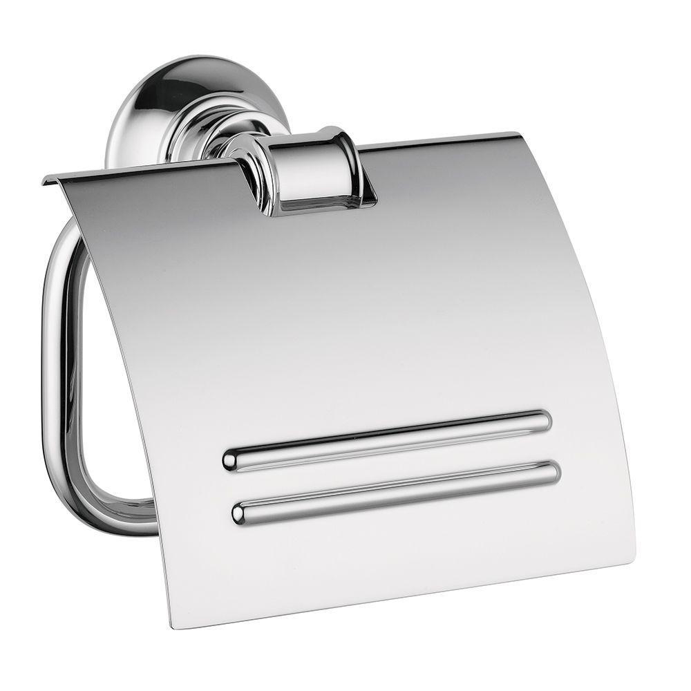 Axor Montreux Single Post Toilet Paper Holder in Chrome