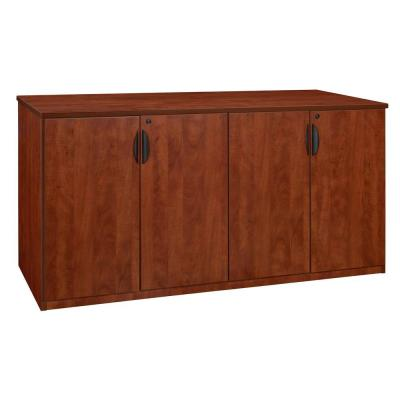 Magons 72 in. Cherry Storage Cabinet Buffet