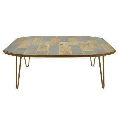 20.5 in. Brown Coffee Table