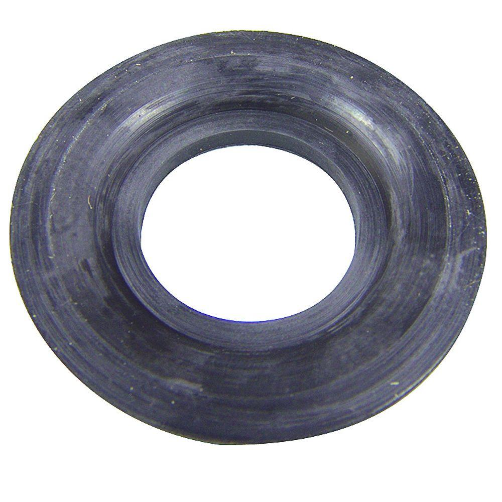 Rubber Tub Drain Gasket in Black-88209 - The Home Depot