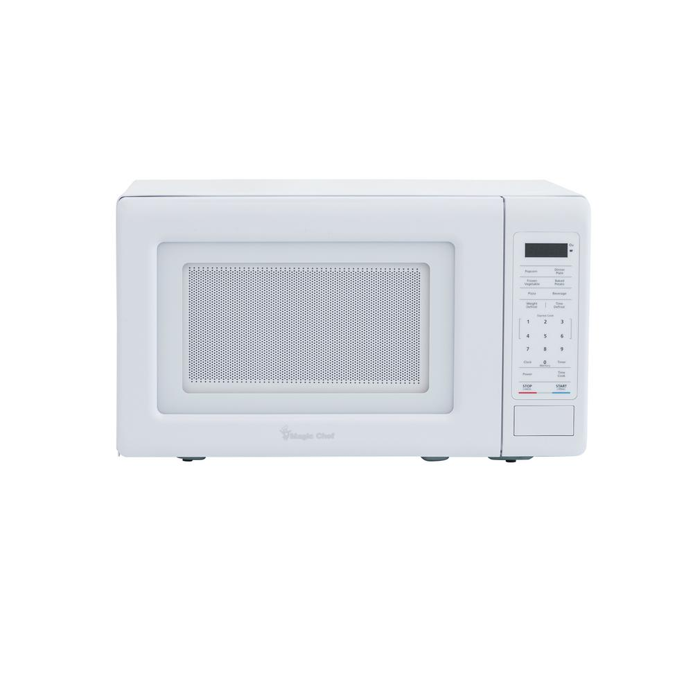 Magic Chef 0.7 cu. ft. Countertop Microwave in White