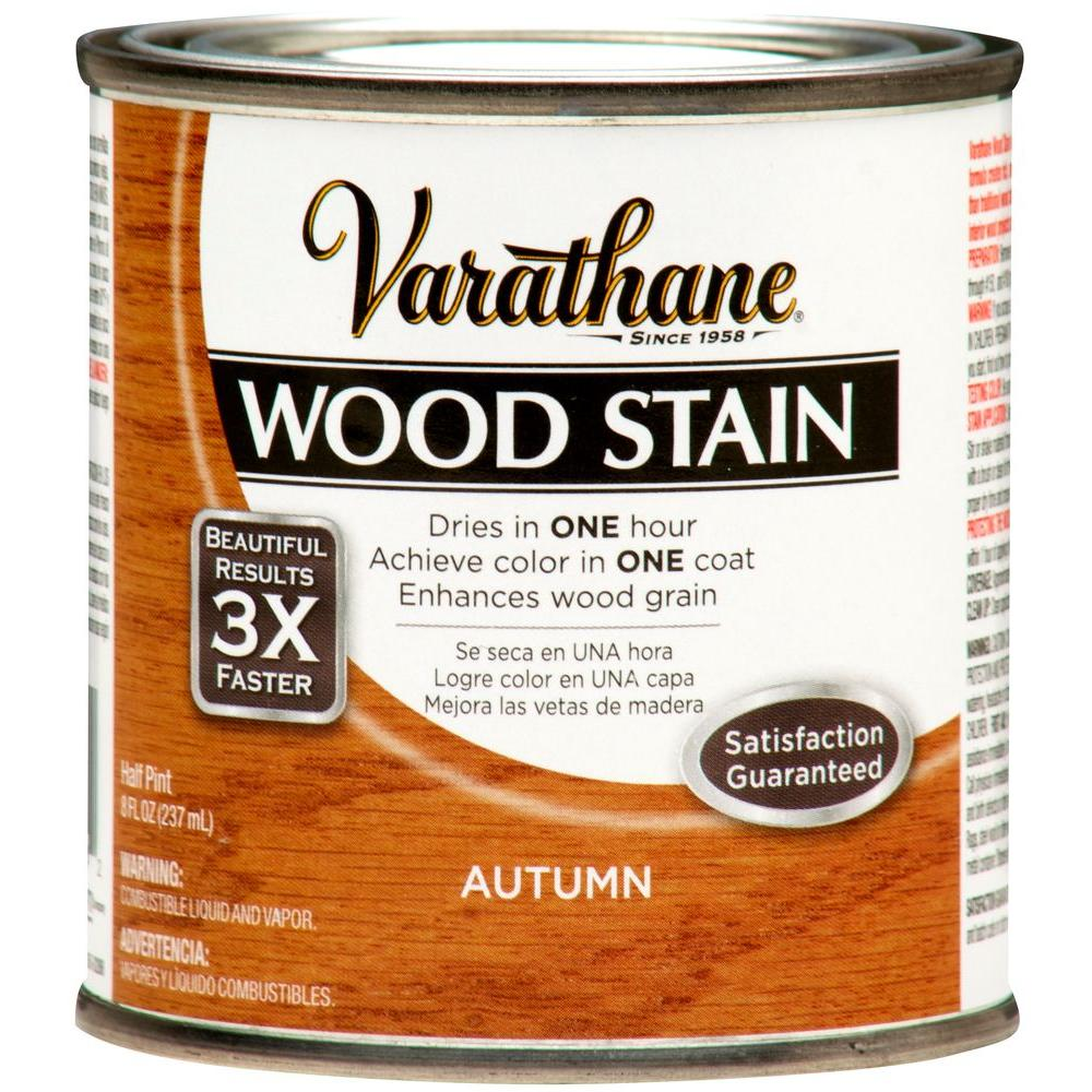 Varathane 8 oz. Autumn Premium Fast Dry Interior Wood Stain