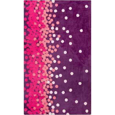 Acahay Purple 5 ft. x 8 ft. Area Rug