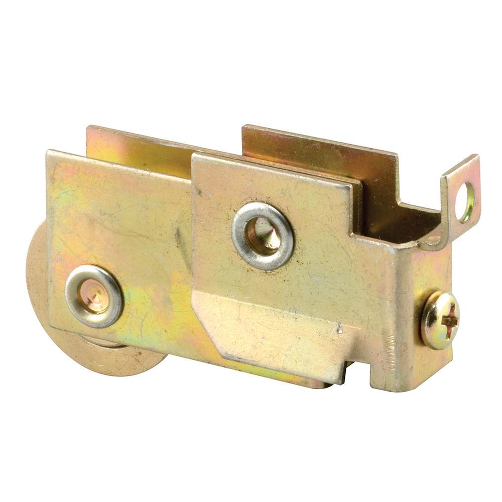 Prime-Line Mirror Door Roller Assembly, 1-1/8 in. Steel Ball Bearing
