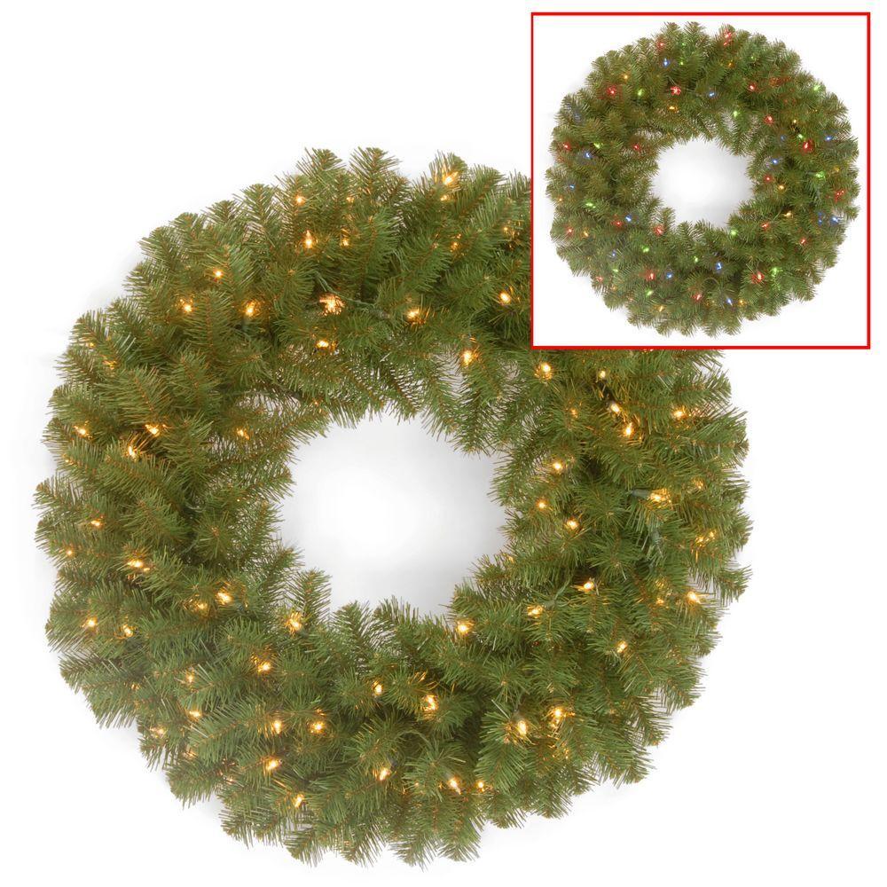 North Valley Spruce Artificial Wreath