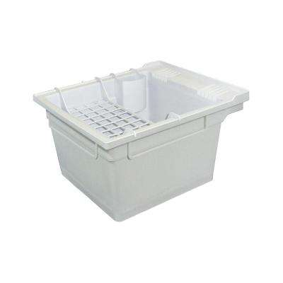 22.4 in. x 26 in. x 14 in. Polypropylene Laundry/Utility Tub and Accessories