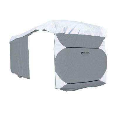 Deluxe PolyPro III 33 - 37 ft. Class A Grey RV Cover