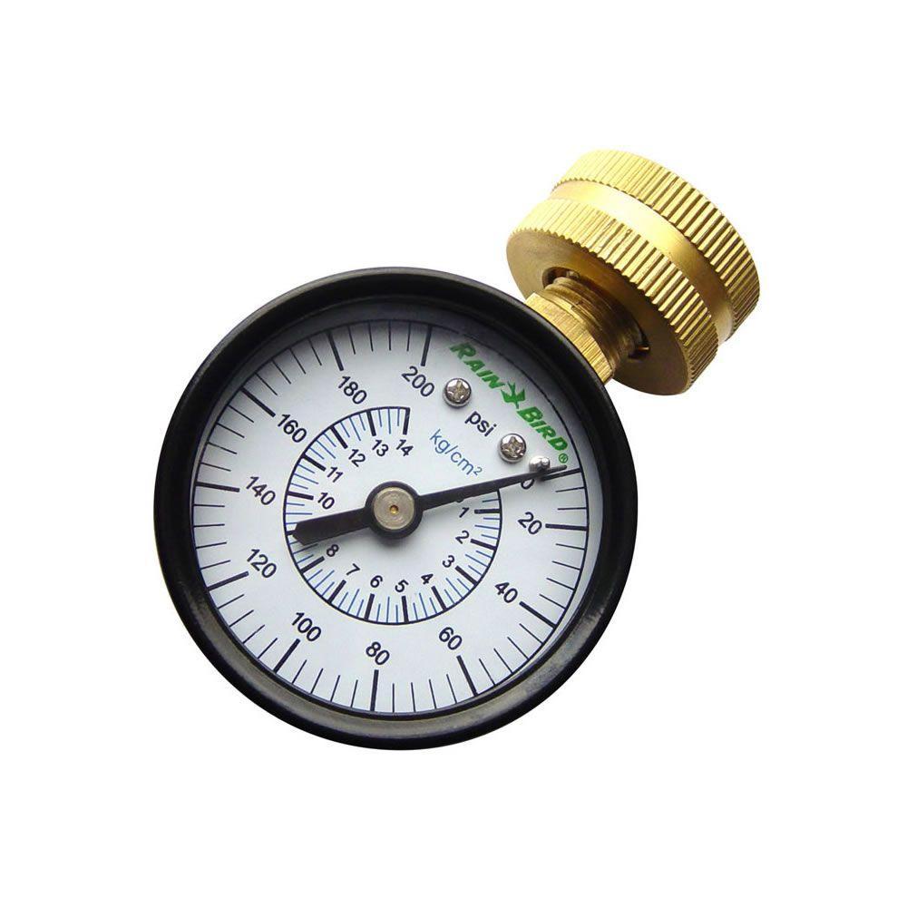 "P2A Water Pressure Test Gauge 3//4/"" Female Hose Thread"