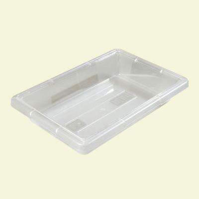 Color-Coded 2.0 gal., 12x18x3.5 in. Polycarbonate Food Storage Box in Clear (Case of 6)