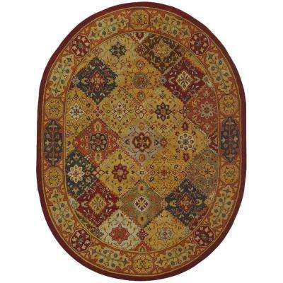 Heritage Multi 7 ft. 6 in. x 9 ft. 6 in. Area Rug
