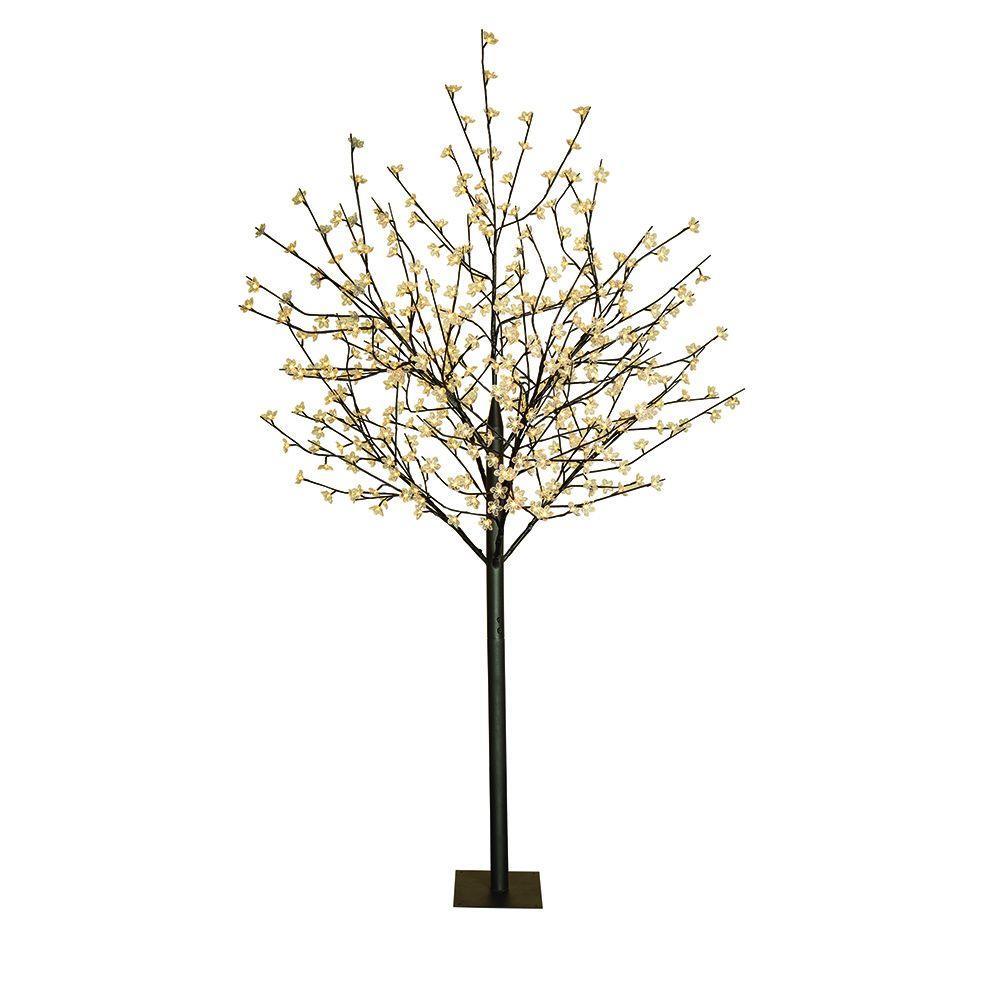 8 ft. Flower LED Lighted Tree