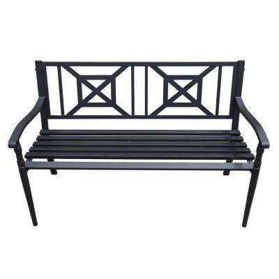 4 ft. Steel Outdoor Patio Porch Chair Loveseat Bench