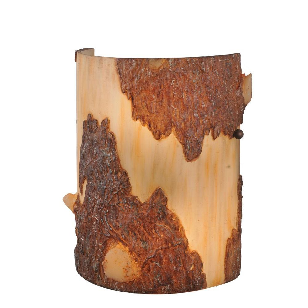 Illumine 2 Bark Wall Sconce