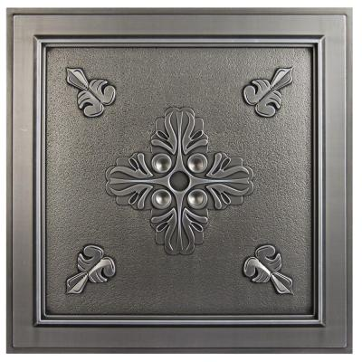 Antique Nickel Ceiling Tiles Ceilings The Home Depot