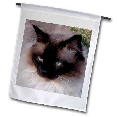 Cats 1 ft. x 1-1/2 ft. Siamese Cat Flag