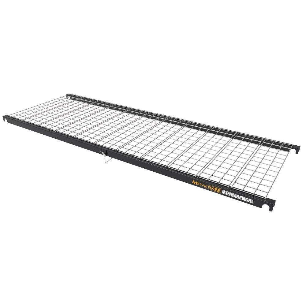 Scaffold Bench Storage Shelf