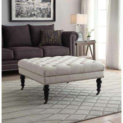 Rustic - Ottomans - Living Room Furniture - The Home Depot
