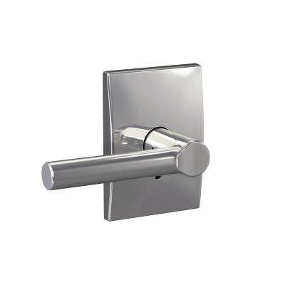 Custom Broadway Bright Chrome Century Trim Dummy Door Lever (2-pack)