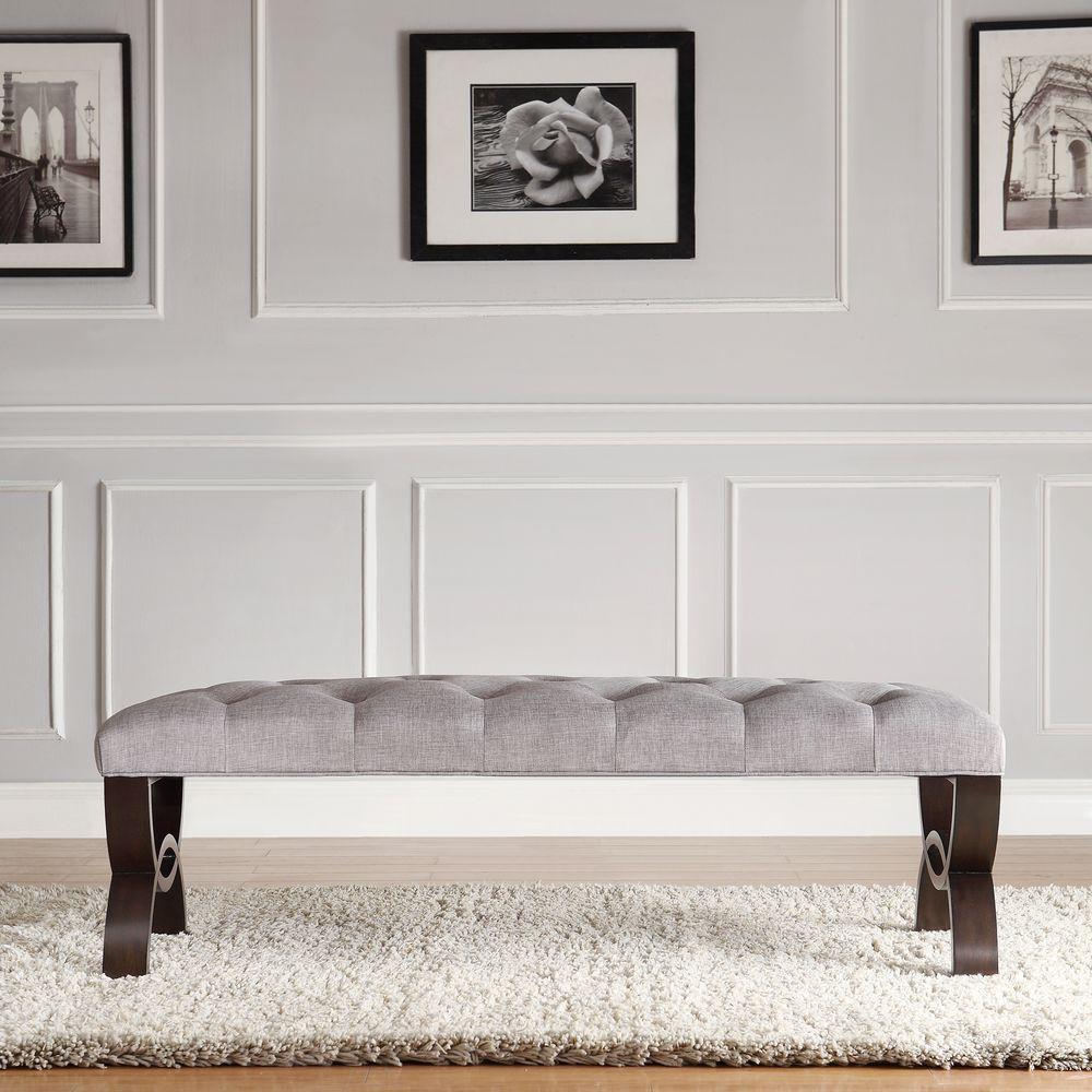 Columbia Grey Bench