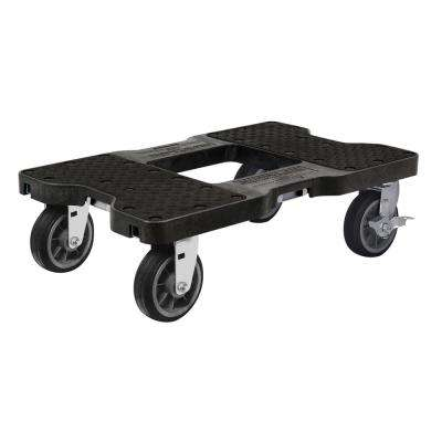 1,500 lbs. Capacity All-Terrain Professional E-Track Dolly in Black
