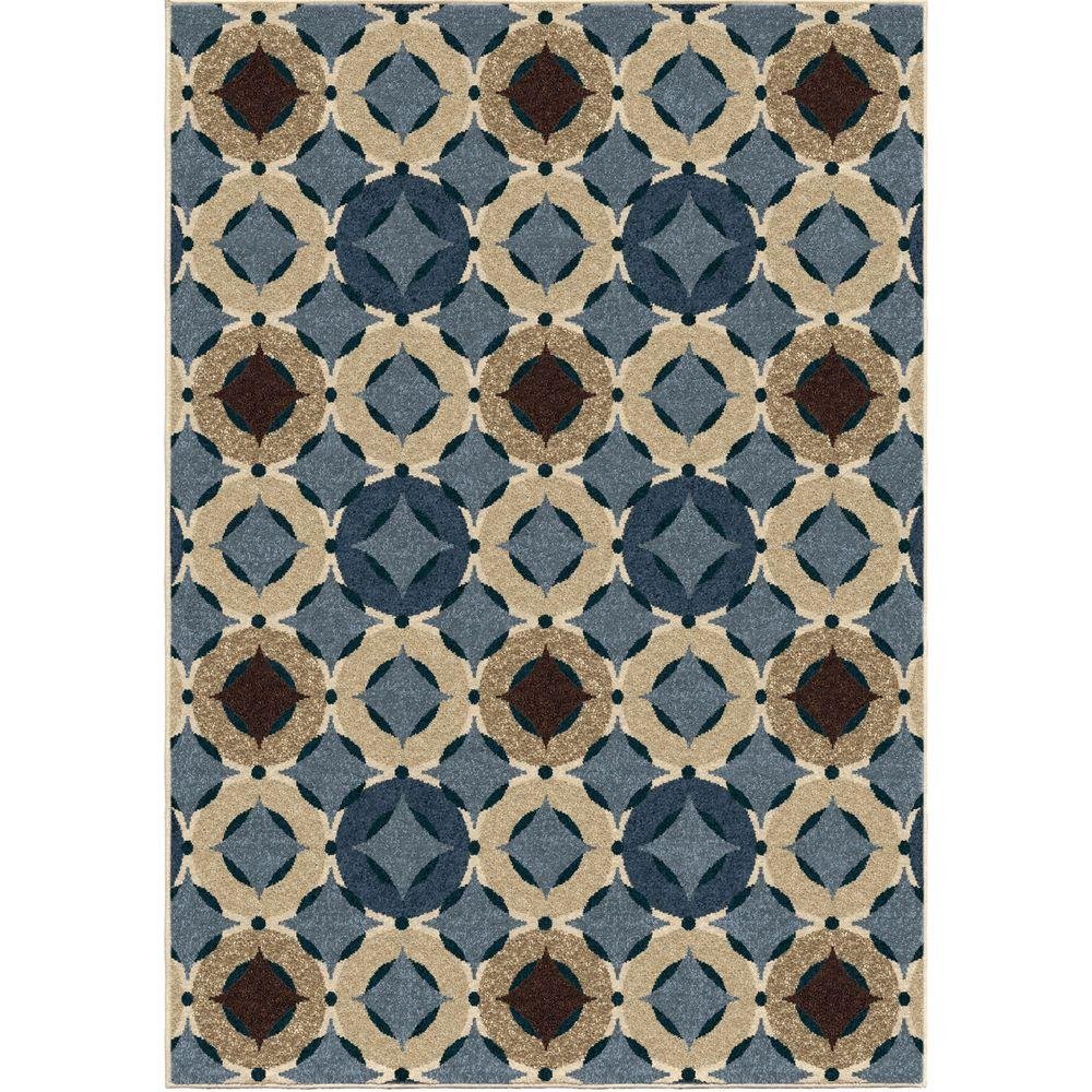 Outdoor Rug 7 X 10: Orian Rugs Imola Multi 7 Ft. 8 In. X 10 Ft. 10 In. Indoor