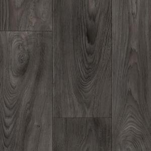 TrafficMASTER Scorched Walnut Charcoal 12 Ft Wide X Your Choice Length Residential Vinyl Sheet C9450407C898P14