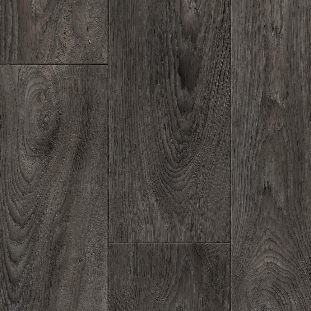 Scorched Walnut Charcoal 12 Ft Wide X Your Choice Length Residential Vinyl Sheet