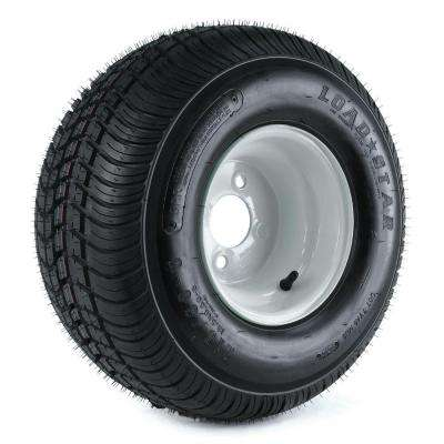 215/60-8 18x850-8 Load Range C 4-Hole Trailer Tire and Wheel Assembly