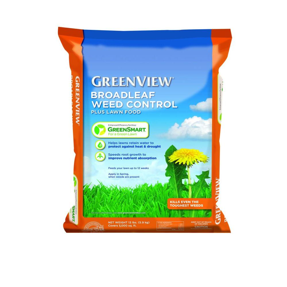 Greenview 13 lb. Broadleaf Weed Control Plus Lawn Food