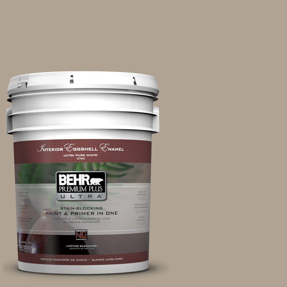 BEHR Premium Plus Ultra 5-gal. #730D-4 Garden Wall Eggshell Enamel Interior Paint
