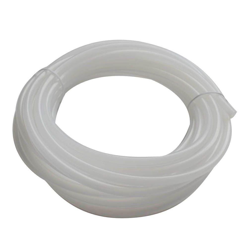 "Firm Crack-Resistant Tubing Food//Beverage Inner Dia 0.17/"" Outer Dia 1//4/"" 100 ft"