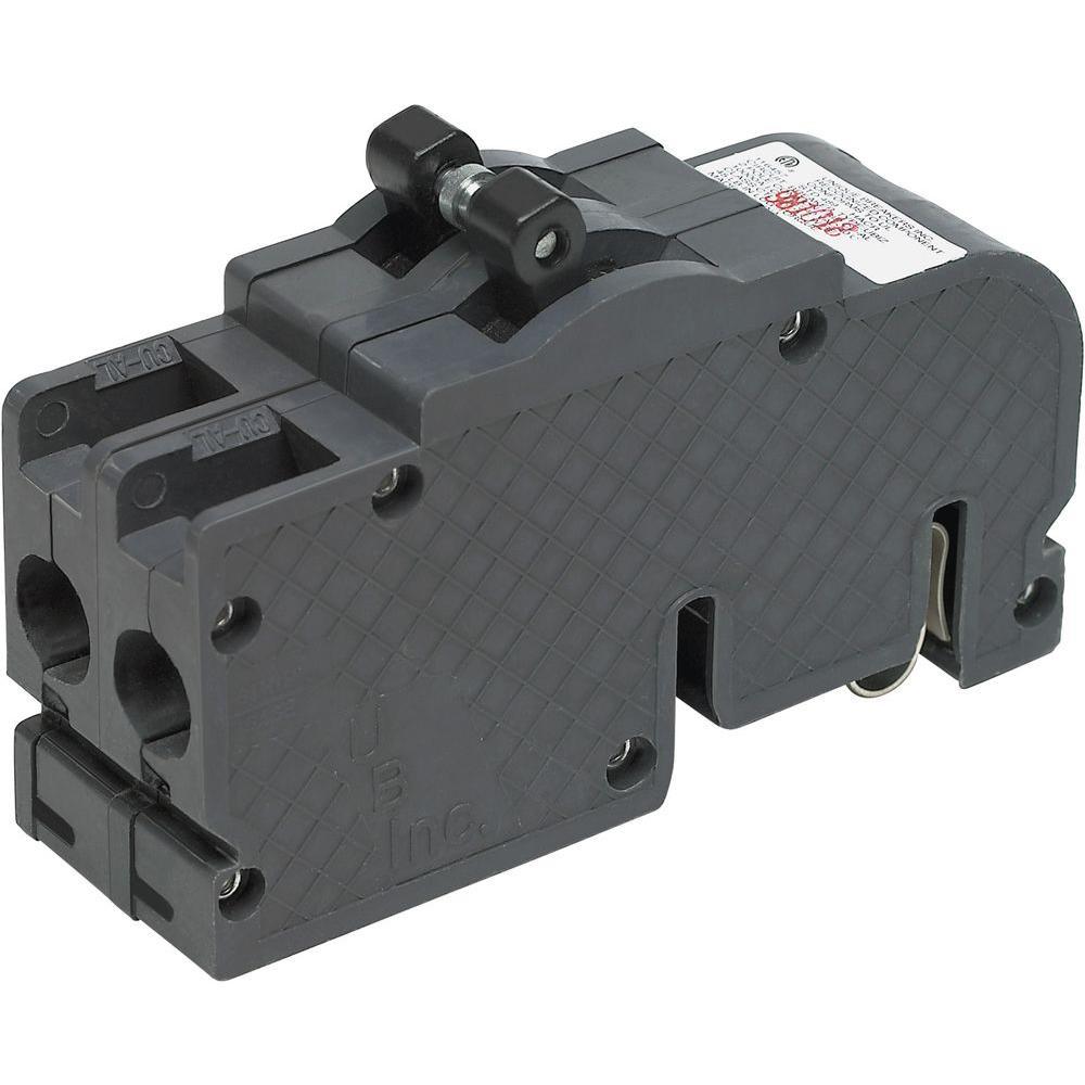 Zinsco New UBIZ Thick 80 Amp 1-1/2 in. 2-Pole Zinsco Type QC Replacement Circuit Breaker