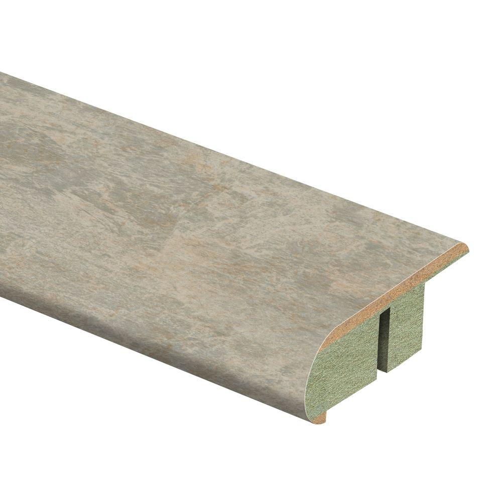 Zamma Ligoria Slate 3/4 in. Thick x 2-1/8 in. Wide x 94 in. Length Laminate Stair Nose Molding