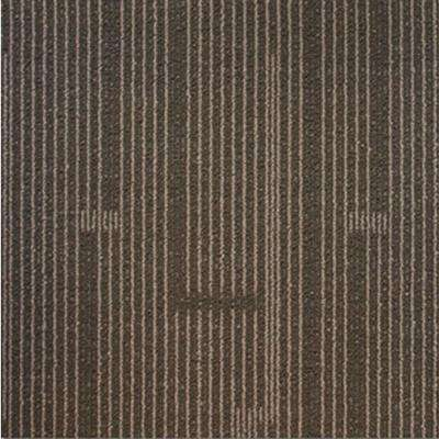 Windsor Terrace Taupe Loop 19.7 in. x 19.7 in. Carpet Tile (20 Tiles/Case)