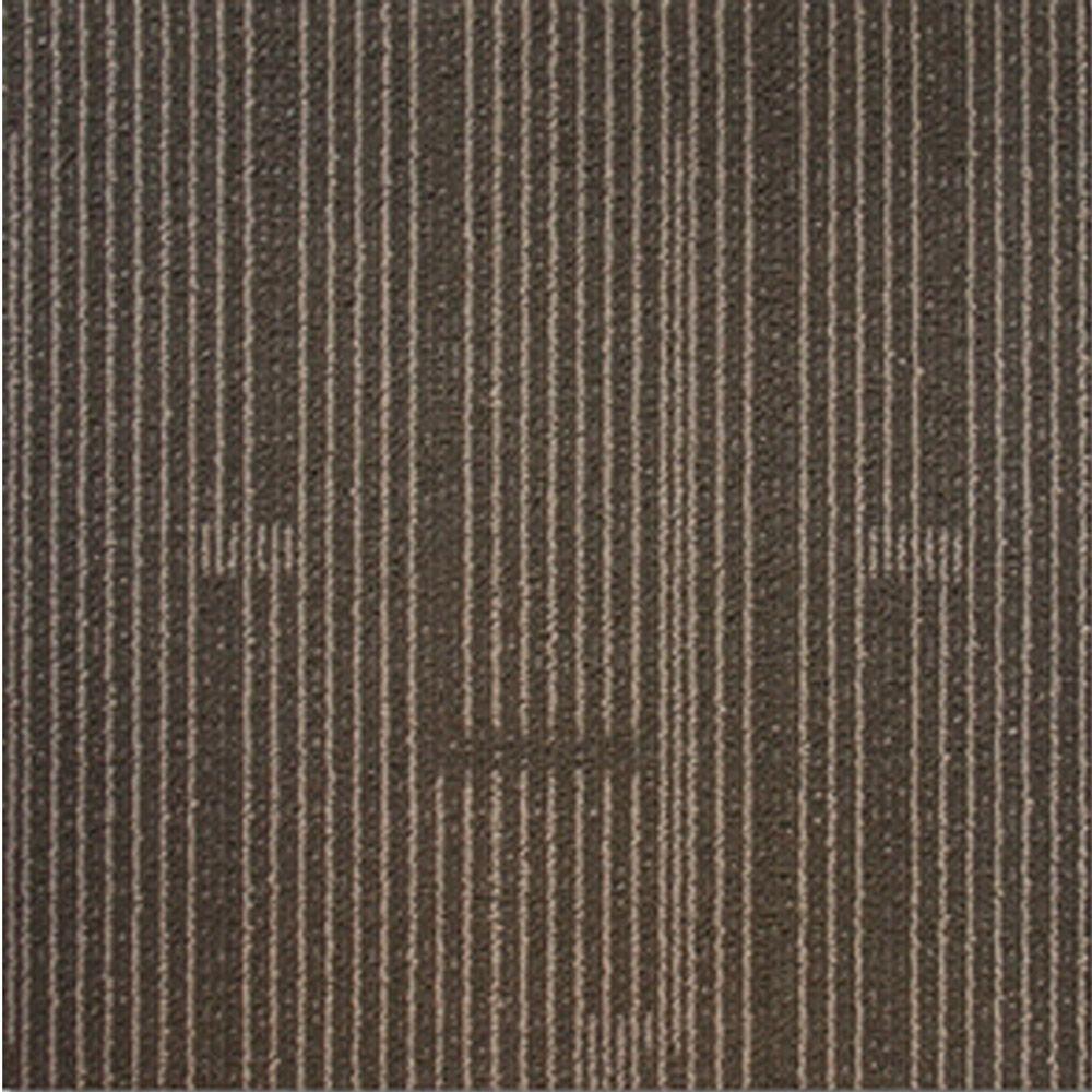 EuroTile Windsor Terrace Taupe Loop 19.7 in. x 19.7 in. Carpet Tile (20 Tiles/Case)